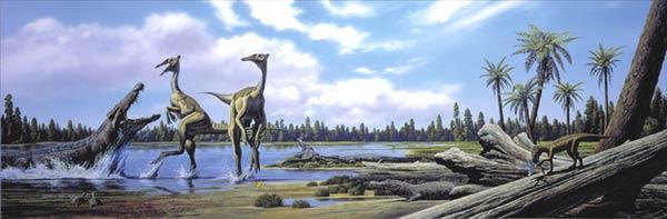 Картинки по запросу Пелеканимим динозавр